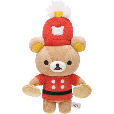 【Rilakkuma】Collecting plush toy ●Wonderland rilakkuma and cymbal ★ 10th anniversary ★