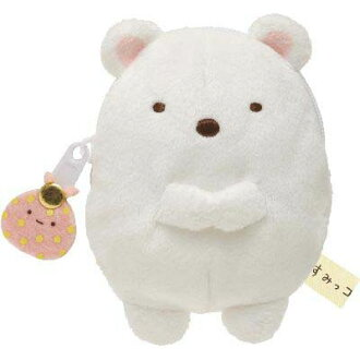 •-Plush coin purse (polar bear).