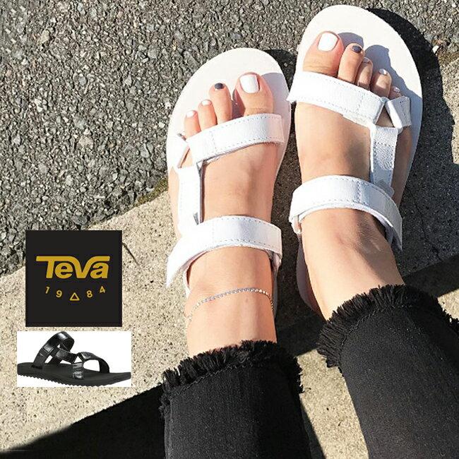 ■【TEVA】テバ WOMEN'S CITY UNIVERSAL SLIDE PATENT LEATHER #1013652スポーツサンダル♪レディース靴 /メタリックレザー/オリジナルユニバーサル/海/夏フェス/フットベッド
