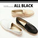【ALLBLACK】オールブラック #14018高品質ホワイトラバーソールレザーローファーポインテッドトゥ/とんがり靴/おじ靴ブラック/ホワイト/ベージュ/あしながおじさん ファビオ ルスコーニ/コルソローマ9ではありません【SEP3】P06May02P01Oct16