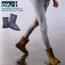 EMU[エミュー]STINGER LO[スティンガーロー]W10002ふわふわモコモコのシープスキンムートンブーツ オーストラリア ミドル丈 ブラック チャコールグレー バーゲン
