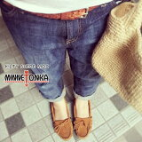 [¨Ǽ]MINNETONKA�ڥߥͥȥ󥫡�KILTY SUEDE MOC HARDSOLE(����ƥ����������ɥ�å�)�⥫���󥷥塼��������������ͭ#400/401/401T/409/402/403/407T/MINNETONKAP06May02P01Oct16