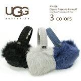 【UGG】[アグ]#14126 イヤーマフ/耳あてClassic Toscana Earmuff毛並みが気持ちシープスキンイヤーマフ!イヤマフ/防寒/シープスキン/ブラック/グレー02P03Dec16