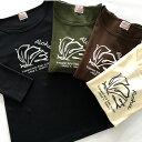 ラウレア ハワイ オリジナル 定番 7分袖 Tシャツ モンステラ 植物 フラ ダンス
