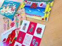 ハワイアンクリスマスカード◆アソート5枚セット【楽ギフ_包装】