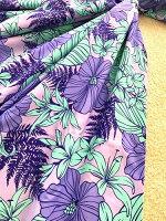 ◆フラダンス◆パウスカート◆紫地ハイビスカス【RCP】【楽ギフ_包装】