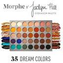 Morphe モーフィー×ジャクリンヒル 35色 アイシャドウパレット