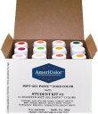 ショッピングcolors アメリカラー 12色セット Studentカラー# 2【21g】Americolor Soft Gel Paste Student Color Kit 12 pc.
