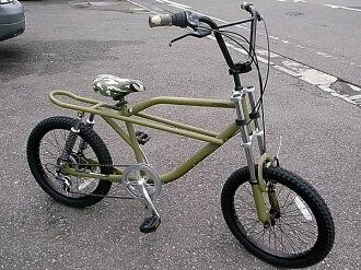 ★ FREAKY BIKE (matte olive) 20 inch ★ freaky bike bicycle BMX