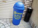 ★ビンテージ ガレージ!ムーンアイズの45L ダストボックス(ブルー)★ダストビン★ダストBOX★ゴミ箱 アメリカン雑貨 ゴミ箱