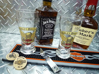 Harley-Davidson eagle glass set HDL-18738 beer glass glass beer bar