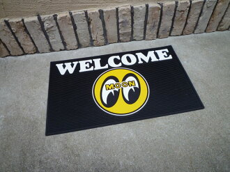 Mooneye welcome rubber mat eye ball doorstep garage mat mat