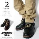 アヴィレックス 靴 ブーツ 本革 送料無料 バイカー ブラック 2931
