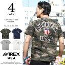 AVIREX アビレックス ショートスリーブ シグネチャー ヴァーシティー ティーシャツ S/S SIGNATURE VARSITY T-SHIRT 6163363