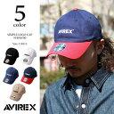 AVIREX アビレックス ロゴ ローキャップ 14916700【ラッキーシール対応】