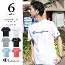 週末限定1000円OFFクーポン対象◆Champion チャンピオン ベーシック ロゴプリントTシャツ C3-H374 【SALE 返品・交換不可】