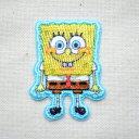 シールワッペン スポンジボブ(Sponge Bob) S05Y9023 ワッペン アイロン ブランド ...
