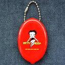 ラバーコインケース ベティブープ Betty Boop(レッド) RCC-BB1 小銭入れ,キーホルダー,アメリカ,アメリカ雑貨,シリコン,ブランド