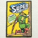 ワッペン Green Arrow グリーンアロー Super Candy&Toy スーパーキャンディアンドトイ CHW-027 アイロン アップリケ パッチ アルファベ..