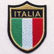ショッピングイタリア エンブレムワッペン Italia イタリア国旗 EMW-027 ワッペン ブローチ ブランド 通販 アップリケ ブレザー エンブレム アルファベット ミリタリー アメリカ空軍 企業 アメリカ アイロン 王冠 星条旗 国旗 名前 おしゃれ
