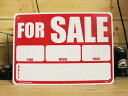 楽天ワッペン通販 ワッペンストア看板/プラスチックサインボード 売ります For Sale CA-09 *DM便(旧メール便)不可 木製 ガレージ 庭 メッセージ 什器 店舗什器 アメリカ雑貨 アンティーク ボード ロード アメリカ