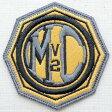 ショッピングハーレーダビッドソン レザーロゴワッペン ハーレーダビッドソン Harley-Davidson(MCV2/糊なし) LEW-005 アイロン アップリケ パッチ アルファベット エンブレム 名前 ミリタリー 車 ディズニー ワッペン