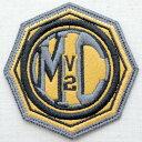 レザーロゴワッペン ハーレーダビッドソン Harley-Davidson(MCV2/糊なし) LEW-005 アイロン アップリケ パッチ アルファベット エンブレム 名前 ミリタリー 車 ディズニー ワッペン