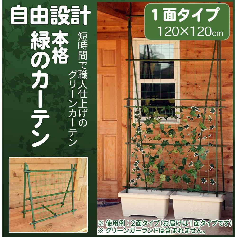 自由設計 本格 緑のカーテン グリーンカーテンキット