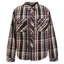 ショッピングクリフメイヤー クリフメイヤー(KRIFF MAYER) ヘビーネルシャツ 1934000-D/NAVY (Men's)