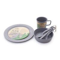 EcoSouLife キャンパー セット Camper Set 14781 Charcoal キャンプ用品 食器 (Mens、Ladys) カトラリーの画像