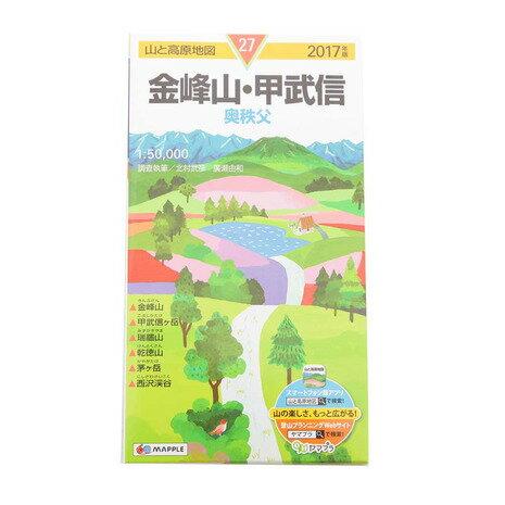 山と高原地図 金峰山・甲武信 2017