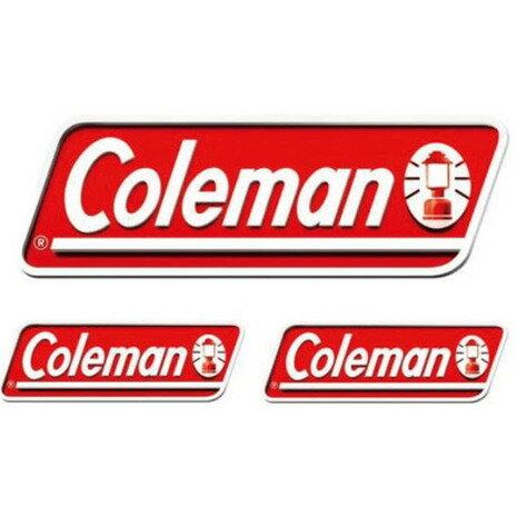 コールマン オフィシャルステッカー 3PCS