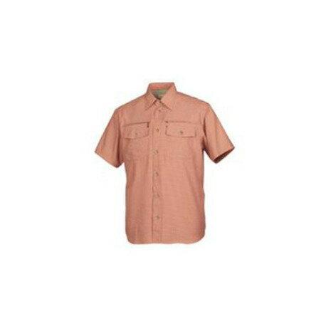 フォックスファイヤー スコーロンチェックシャツS/S ブリック  メンズ
