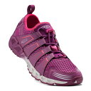 キーン(KEEN) VERSAVENT 1016401 Purple Wine/Dark Purplestyleローカットシューズ (Lady's)