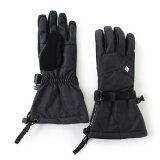 コロンビア(Columbia) ウィメンズ ホイールバードグローブ Women's Whirlibird Glove SL9024 014 Black Crossdye 防水 保温 (Lady's)