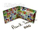 paulsmith 財布 ポールスミス メンズ財布 ポール・スミス フラッグ牛革プリント 二つ折り財布 小銭入れ付き メンズ 人気 ポールスミス100-0414