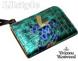 ■vivienne westwood ヴィヴィアン・ウエストウッド 財布 牛革・合皮 ファスナー 二つ折り財布 ヴィヴィアン900-0395