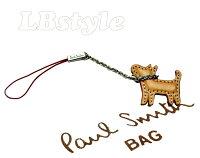 ■paulsmithポールスミス携帯ストラップ牛革小犬携帯ストラップポールスミス200-0054