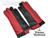 手袋ヴィヴィアンウエストウッド手袋レディース手ぶくろグローブVivienneWestwoodレディース鹿革・羊革21cmレディース手袋ヴィヴィアン200-0663