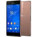 【新品・未使用】白ロム 格安スマホ Sony Xperia D6653 Z3 LTE SIMフリー[Copper] SIMフリー 携帯電話 スマートフォン本体
