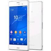 【新品・未使用】白ロム 格安スマホ Sony Xperia D6653 Z3 LTE SIMフリー[White] SIMフリー 携帯電話 スマートフォン本体