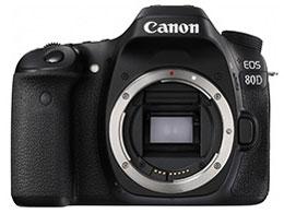 【新品・未使用】 CANON(キヤノン) EOS 80D ボディ デジタル一眼カメラ 家電