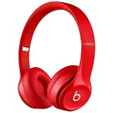 beats by dr.dre solo2 wireless [レッド] オーバーイヤーヘッドフォン ヘッドホン・イヤホン MHNJ2PA/A 家電