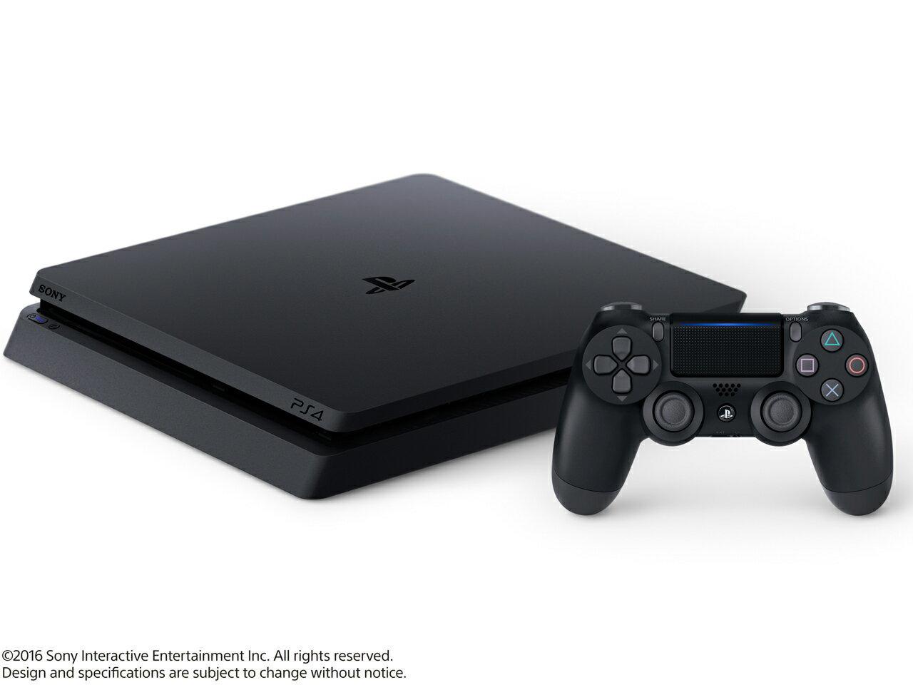 【新品・未使用】SONY(ソニー) プレイステーション4 HDD 1TB [ジェット・ブラック] CUH-2000BB01 ゲーム機 本体