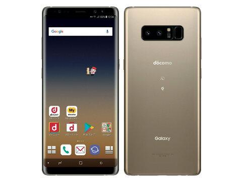 【新品・未使用】 Galaxy Note8 SC-01K SIMロック解除済docomo 白ロム 2017年冬春モデル