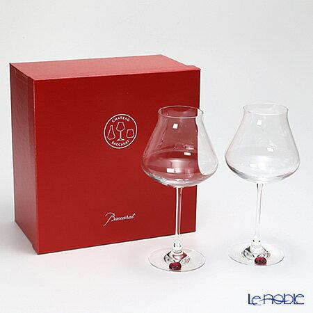 【期間限定】【送料無料】バカラ (Baccarat) シャトーバカラ 2-806-404 ワイングラス XL レッドスタンプ ペア【楽ギフ_包装選択】【楽ギフ_のし宛書】
