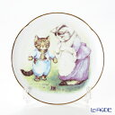 【ポイント10倍】ロイター ポーセリン ビアトリクスポター 058530/3-II(ボタン) 子猫のトム プレート 15cm プレート立て付 ピーターラビット 皿 お皿 食器 ブランド 結婚祝い 内祝い