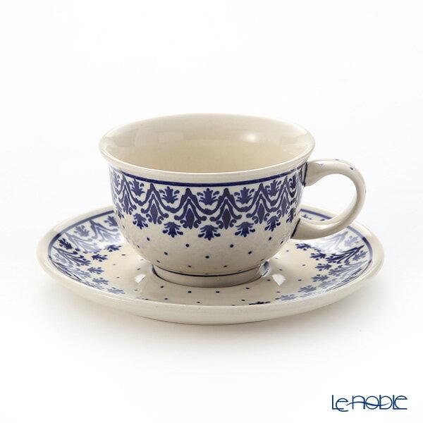ポイント10倍ポーリッシュポタリー(ポーランド陶器)ボレスワヴィエツティーカップ&ソーサー220ml