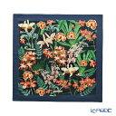 【クーポン】ジムトンプソン クッションカバー コットン フリル グロリオサ/ダークブルー 45×45cm ジム・トンプソン ギフト フラワー(花柄)