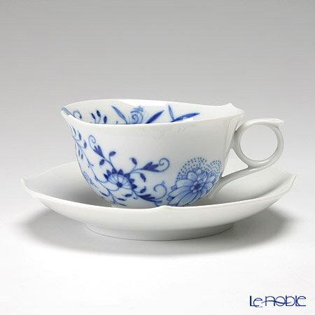 マイセン(Meissen)ブルーオニオンスタイル801001/28633ティーカップ&ソーサー170